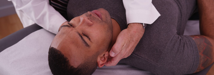 Chiropractic Adjustment for Neck Pain in Southlake TX